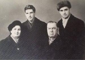Вера Лесохина-Грубман, Лев Грубман, Маркус Грубман, Александр Левин.