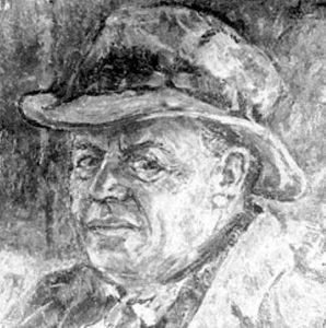 Гликсберг Х. Портрет Хаима-Нахмана Бялика