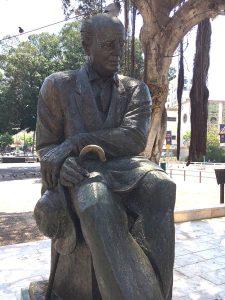 Памятник Х.-Н. Бялику в Рамат-Гане.