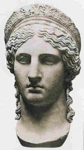 Клеопатра Селена II (40 год до н.э. — 4 год н.э.), царица Киренаики и Мавретании, дочь Марка Антония и Клеопатры VII, жена Юбы II, последняя представительница рода Птолемеев.