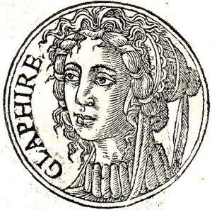 Глафира Каппадокийская (около 35 года до н.э. — 7 год н.э.), дочь каппадокийского царя Архелая и армянской принцессы из рода Арташесидов. Первым мужем Глафиры был Александр, сын Ирода Великого и Мариамны Хасмонейской. Юба II был вторым мужем вдовы удавленного Иродом Александра, этот брак был недолгим и не был счастлив. Третьим по счету и последним мужем Глафиры был Ирод Архелай. В жилах дочери Архелая, прозванного Филопатором, текла кровь армянская, персидская и греческая, но не еврейская. И, тем не менее, она была замужем за двумя иудеями. Очевидно, что последнее предполагает принятие иудаизма. И здесь интересно ее замужество за берберским царем Юбой, что может косвенно указывать на иудаизм у берберов уже в то время. Да и само имя «Юба», возможно, видоизменённое еврейское имя «Иоав»?