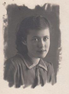 Фира Брук. Баку.1942 г.