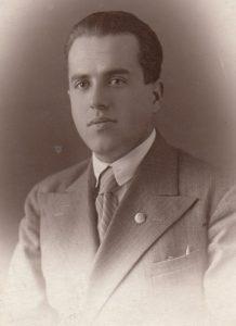 Наум Эммануилович Слободкин. Погиб под Смоленском в 1941 г.