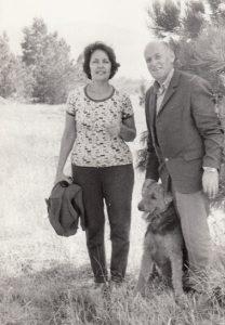 Рена и Марк Гинзбург. 1983 г.