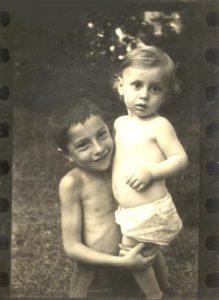 Владимир и Иосиф Шапиро, 1940, Москва