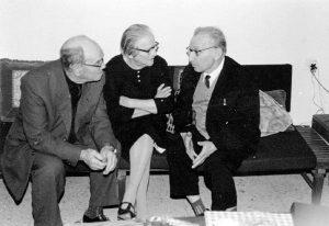 Моше и Рахель Шефер, Михаил Шапиро, 1972 год, февраль, Тель-Авив