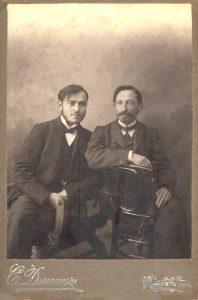 Биньямин Шапиро и Йосеф Виткин, 1911 год, Могилев