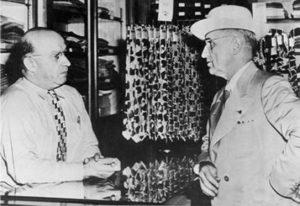 Президент Гарри Трумэн в магазине Джекобсона