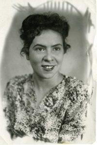 Моя жена Надя в 1948 г.