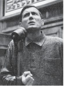 Евгений Евтушенко. МГУ, 1973 г.
