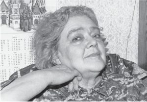 О. Ивинская. Москва, 1992(?) г. Фото автора