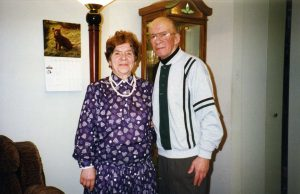 Автор с женой. Бетезда, Мэриленд, 1990-е гг.