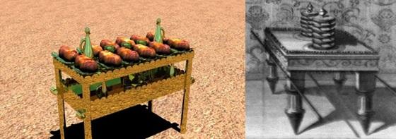 Различные изображения стола хлебов предложения