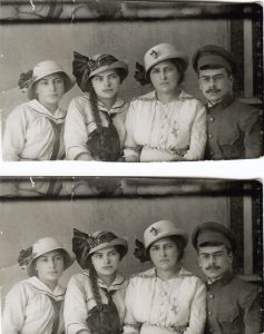 Гимназистки Софья и Мария, Казмира Владимировна и студент университета Георгий Земан