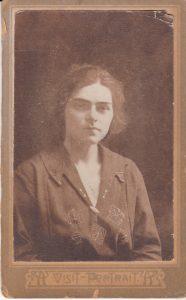 Мария Земан. 1924 г