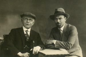 Алексадр Земан с сыном Георгием