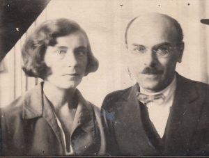 Георгий Земан с женой Ядвигой Свитич
