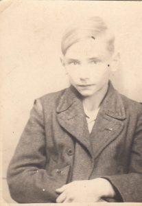 Виктор Земан в годы скитаний по военной и послевоенной Европе