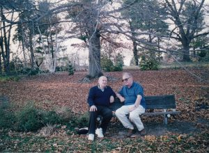 Виктор Земан (справа) и Марк Гинзбург. Виржиния. 1998 г.