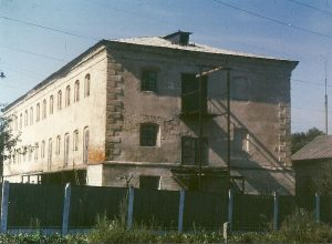 Бывшее здание Новоград-Волынской тюрьмы в середине 1990-х годов