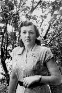 Полина Куриленко в 1950-х годах