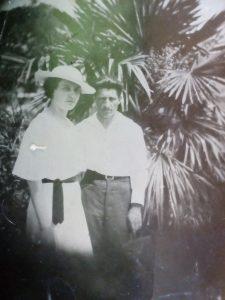 Шмуль Шуберт (справа) в 1939г.