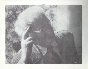 Элиягу Мейтус (фотография, которая была вложена в книгу сонетов «На краю второго моста»)