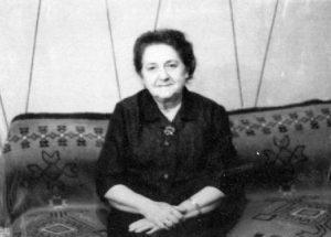 Анна Мейтес, 1970 год (фотография из архива автора)