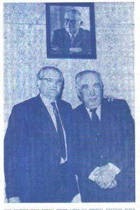 Элиягу Мейтус (слева) в день получения премии имени Фихмана. На фото — первые лауреаты этой премии: Фроим Ойербах и Элиягу Мейтус (1964, Тель-Авив, Израиль) (фотография передана Давидом Хахамом)