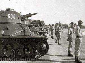 Танкисты 82-го танкового батальона ЦАХАЛа.1948