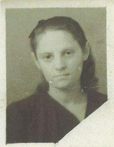 Фотография мамы сделанная а в конце войны