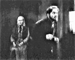 Артист Иосиф Миндлин в фильме «Пять невест». 1930 г.