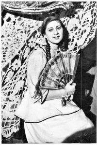 Студентка Рита Гендлин. Московское еврейское театральное училище. Личный архив Ф. Миндлина.