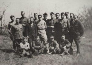 В армии иногда удавалось и в футбол поиграть