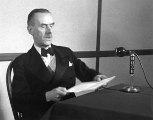 "Томас Манн в передаче ""Немецкие слушатели!"", 1941 г."