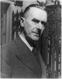 Томас Манн, 1937 г.