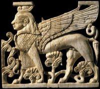 финикийский рельеф, IX-VIII до н.э.