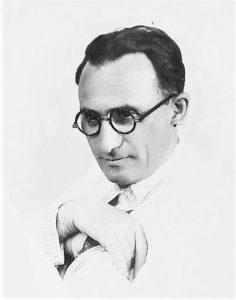 Режиссёр и артист И. М. Миндлин. Белосток, 12 марта 1940 г. Личный архив Ф. Миндлина
