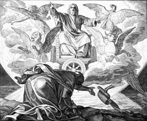 «Видение Иезекииля» ― Гюстав Доре ― 1883