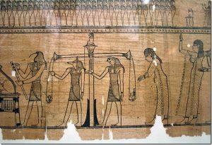 Деталь из Книги мертвых Тарумы (III–IIвв. до н.э.). Вена, Австрия