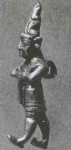 Золотая хеттская статуэтка. Британский музей