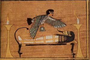 Книга мёртвых Ани (Египетская Книга мёртвых, ок. 1200 г. до н.э., Западные Фивы, Египет \ Британский музей, Берлин, Бруклин);