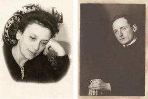 Эсфирь (Фира) и Рафа Рабиновичи сестра и брат моего папы Якова