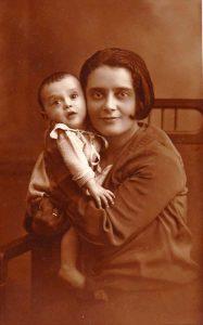 Тойбе и Хаим Гиршовичи, 1928