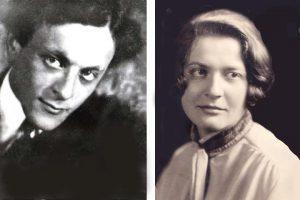 Лев Лунц. 1921 Евгения Лунц, сестра Льва Лунца. 1929