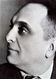 Первый главреж Одесского ГОСЕТа Евгений Венгре. 1934г.