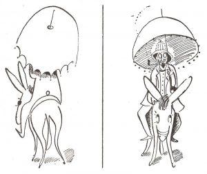 Такими картинками Н Гутман иллюстрировал свои книги