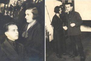 Встреча Яши Скульского с Эммой Брохман. Город Киев. 11-13.11. 1935 г.