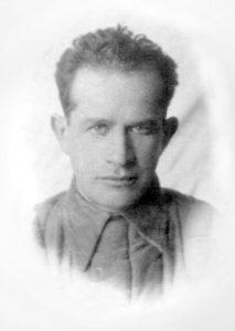 Единственное фото Якова Скульского времен войны. Москва, 1942г.