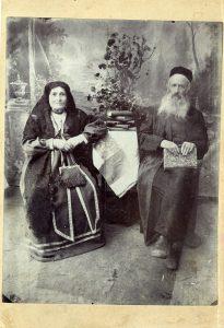 Прапрабабушка Ента и прапрадедушка Ноах Тарадай